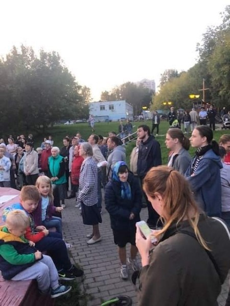 Moscow Park Protest 3 Image own work