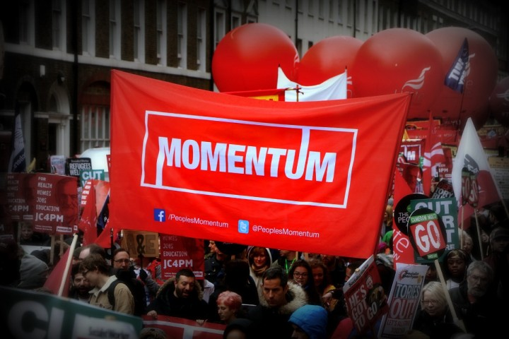 Momentum demo Image Socialist Appeal