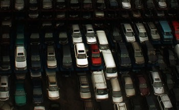 The crisis of overproduction has hit the car industry hard all over the world. Photo by Escape Vehicle on Flickr.