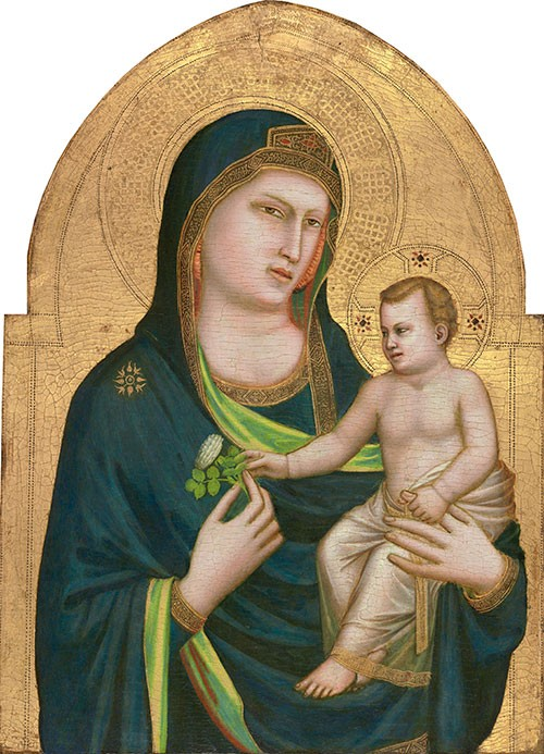 Giottos Madonna and Child Image public domain