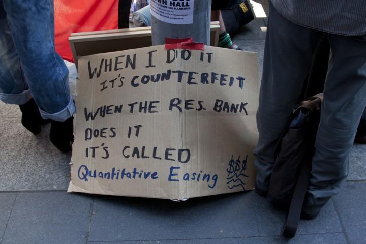 Quantitative easing Image Ilaria Caterina