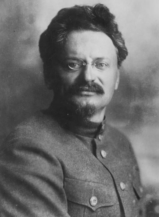 Trotsky Image public domain