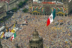 National Democratic Convention in Zocalo Square (2)