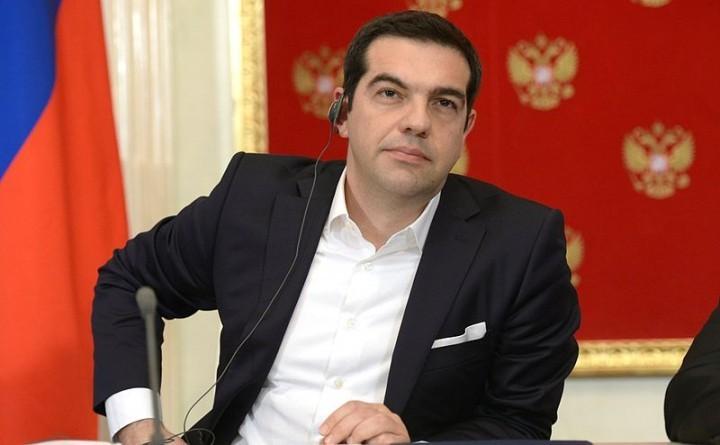 激左盟(SYRIZA)屈服于「三驾马车」的压力,彻底败坏了自己的名声。//图片来源:Πpecc cлyжбa ΠpeзидeHTa Ροccии