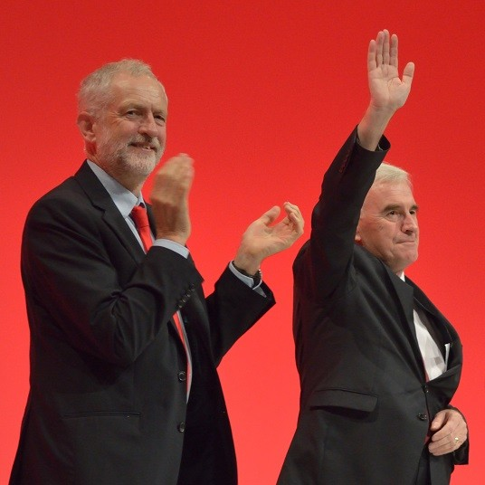 Corbyn John McDonnell must respond with bold policies Image Rwendland
