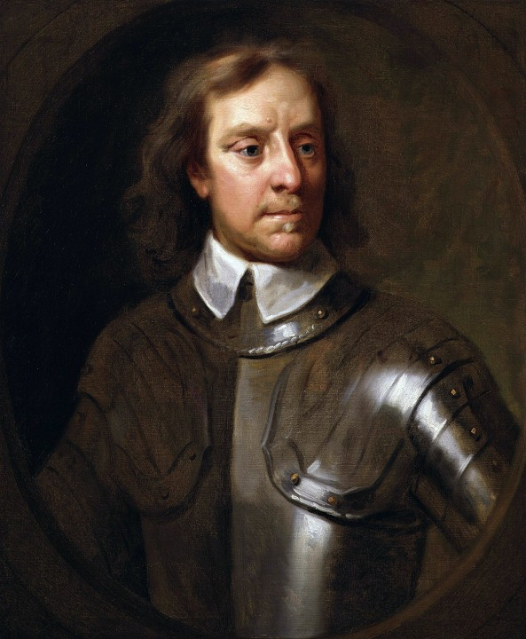 Oliver Cromwell Image public domain