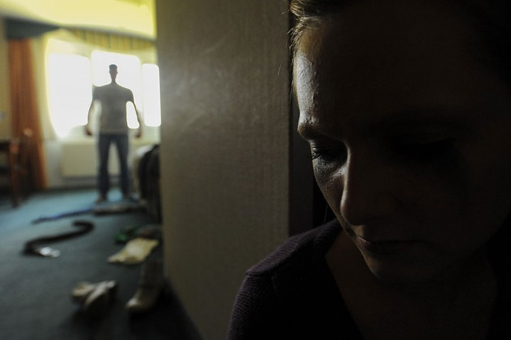 Domestic violence Image Senior Airman Rusty Frank
