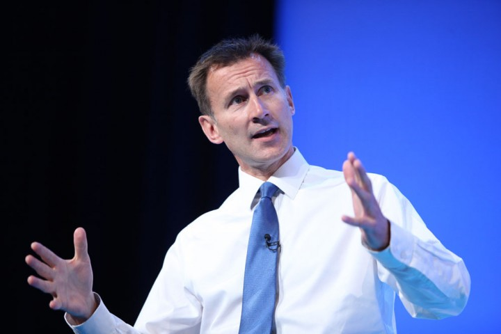 Jeremy Hunt refused to vacate the Department of Health Image NHS Confederation