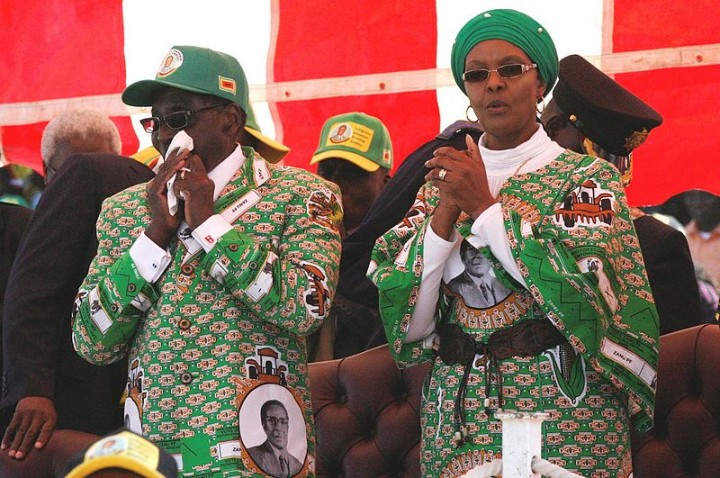 Grace Mugabe Image Dandjk Roberts