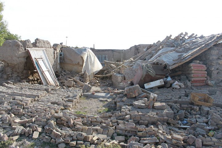 Unenforced masonry in Tabriz resulted in devastation during the 2012 quake Image Mardetanha