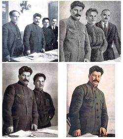 Stalin falsification - Public Domain