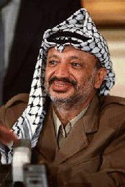 on the death of yasser arafat