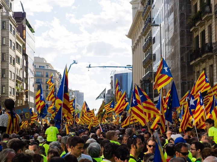 Catalan independence demo in Barcelona Image Màrius Montón