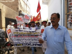 May Day Rally in Dadu by RWF 2