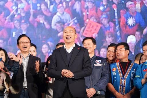 韓國瑜慘敗給蔡英文,但很可能嘗試著提升他自己在國民黨黨內的地位。//圖片來源:韓國瑜官方臉頁