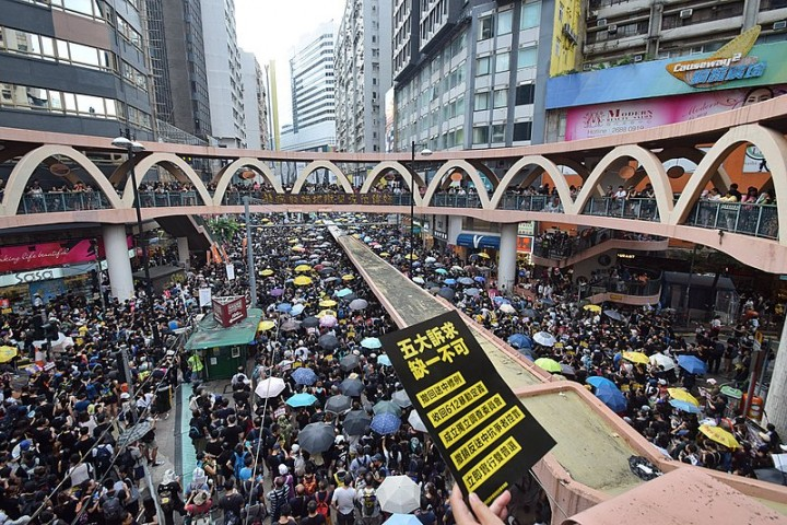 Hong kong protests 2 Image Baycrest