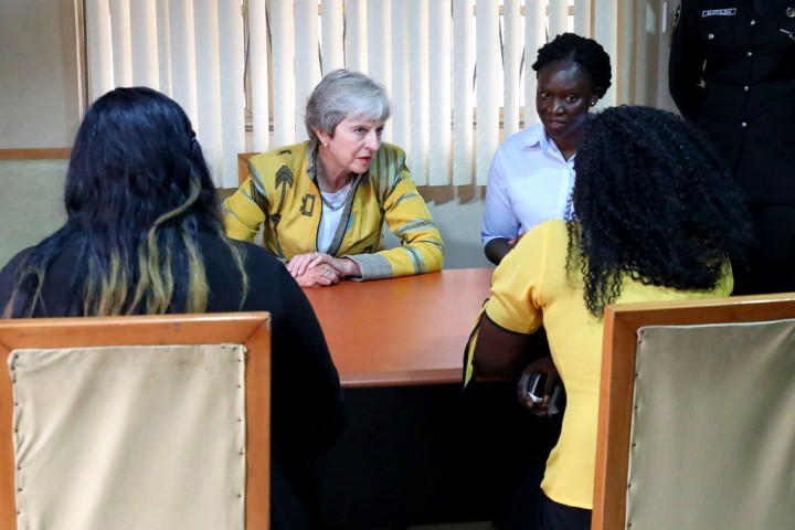 Theresa May Nigeria Image public domain