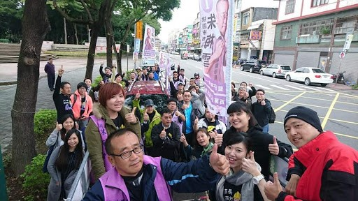 Zhus campaign succeeded in reaching people whom the labor movement were not able to reach in the past Image Zhu Meixue official Facebook