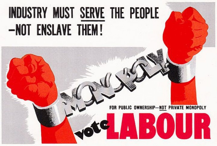 1945 Labour Party poster Image public domain