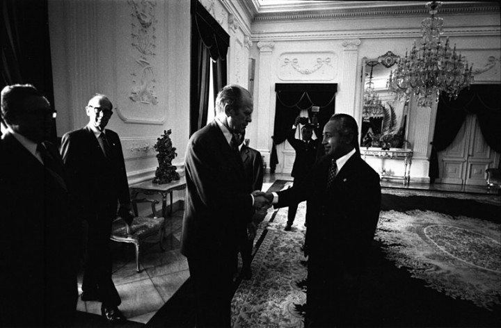 Suharto Ford Newsom and Kissinger Image public domain