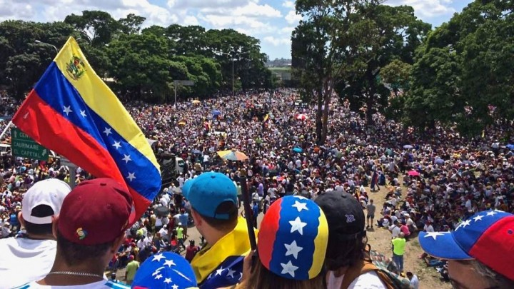 Venezuela opposition march Image public domain