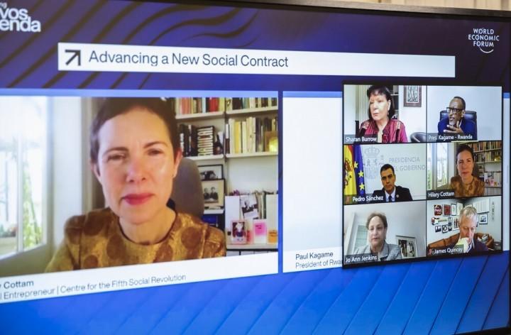 他們說,我們需要的是一個「新的社會契約」。問題是,這全都是一廂情願而已。//圖片來源:Paul Kagame, Flickr