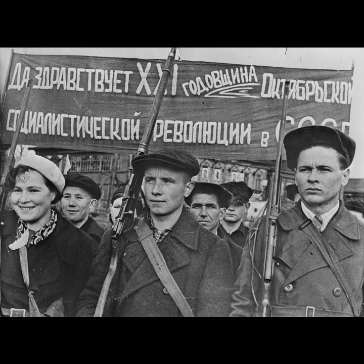 Anniversary of the October Revolution in the USSR, 1938 - Photo: Public Domain