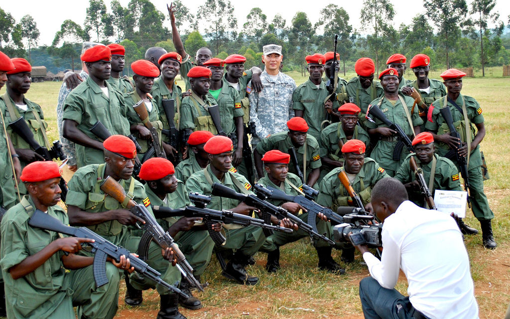 Ugandan military police Image Flickr US Army Africa