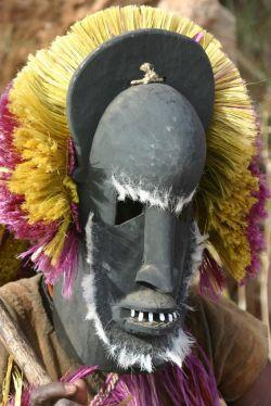 Traditional dogon masque