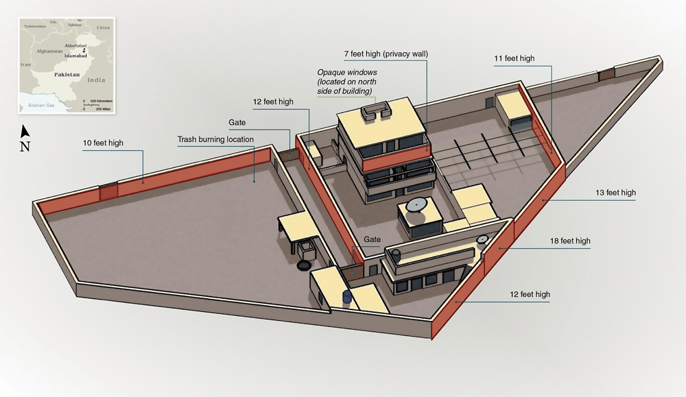 The compound. Illustration: US State Department