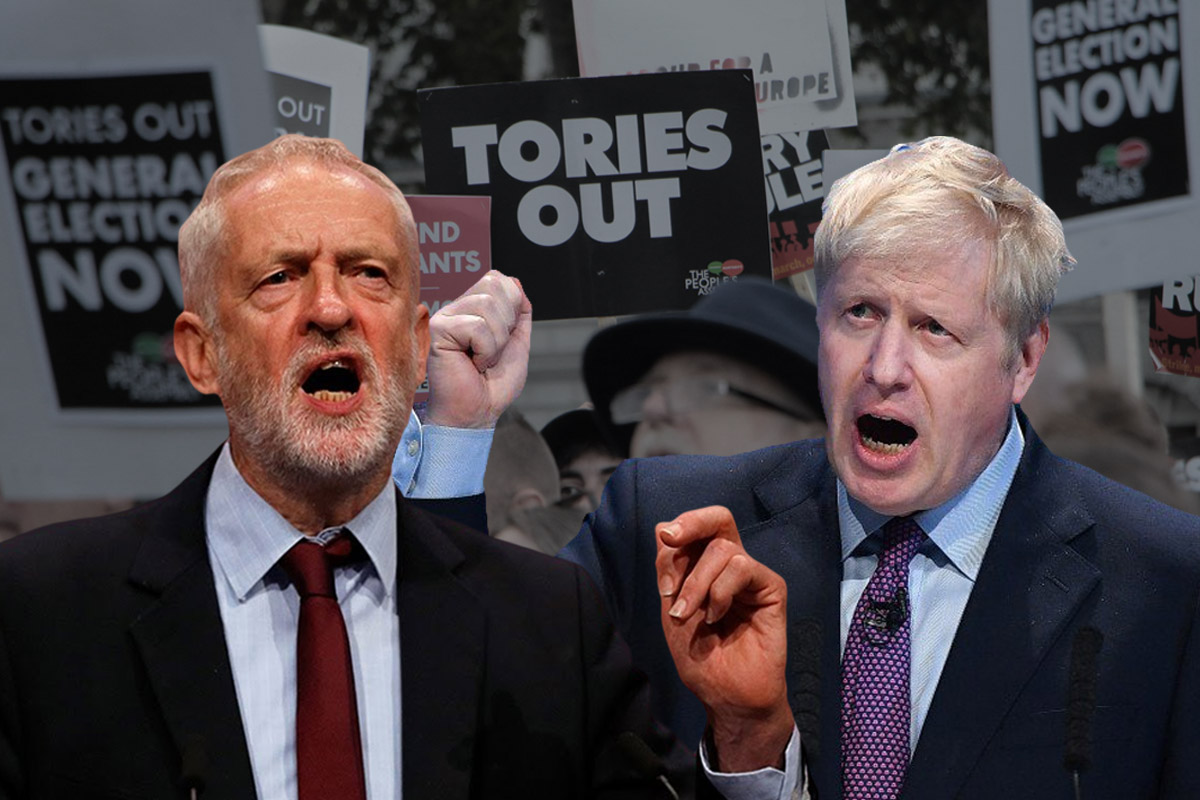 Corbyn Boris Tories Out Image Socialist Appeal