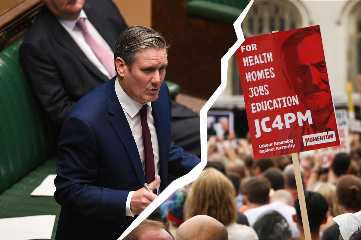 Starmer vs party Image Socialist Appeal