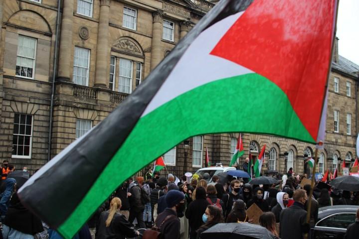 Palestine demo May 2021 Edinburgh Image Socialist Appeal