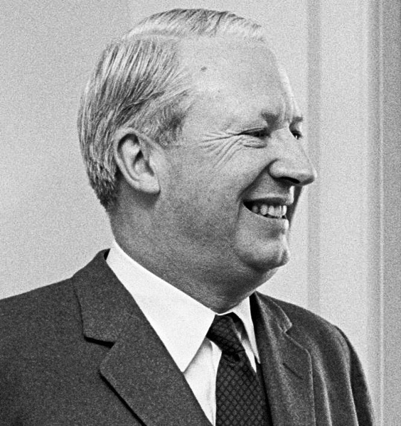 Edward (Ted) Heath. Photo by Frank Hall / US Department of Defence.