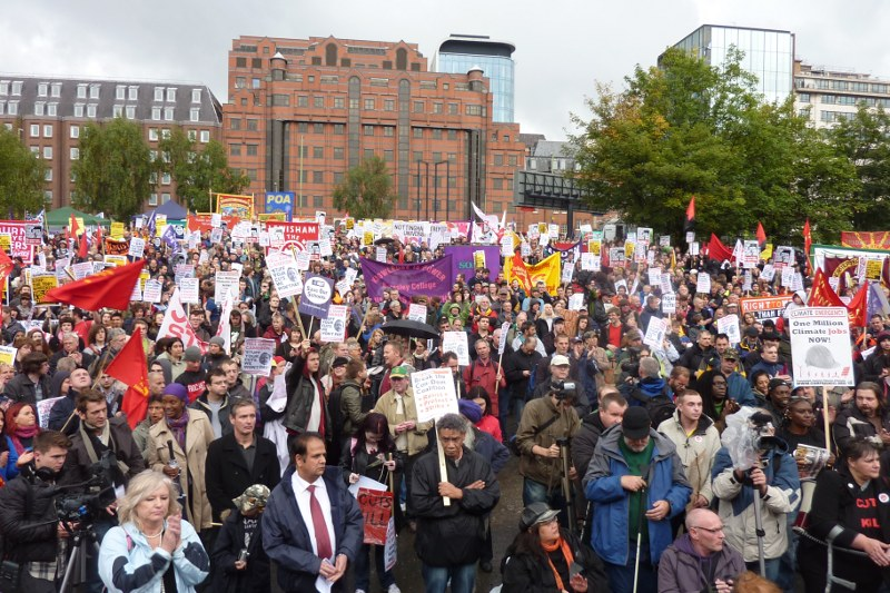 Birmingham rally against the cuts last month. Photo: Geoff Dexter.