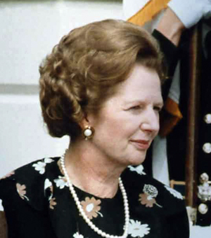 Margaret Thatcher used the Falklands War to bolster support for her ailing government.