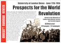 Summer School in London: Prospects for the World Revolution