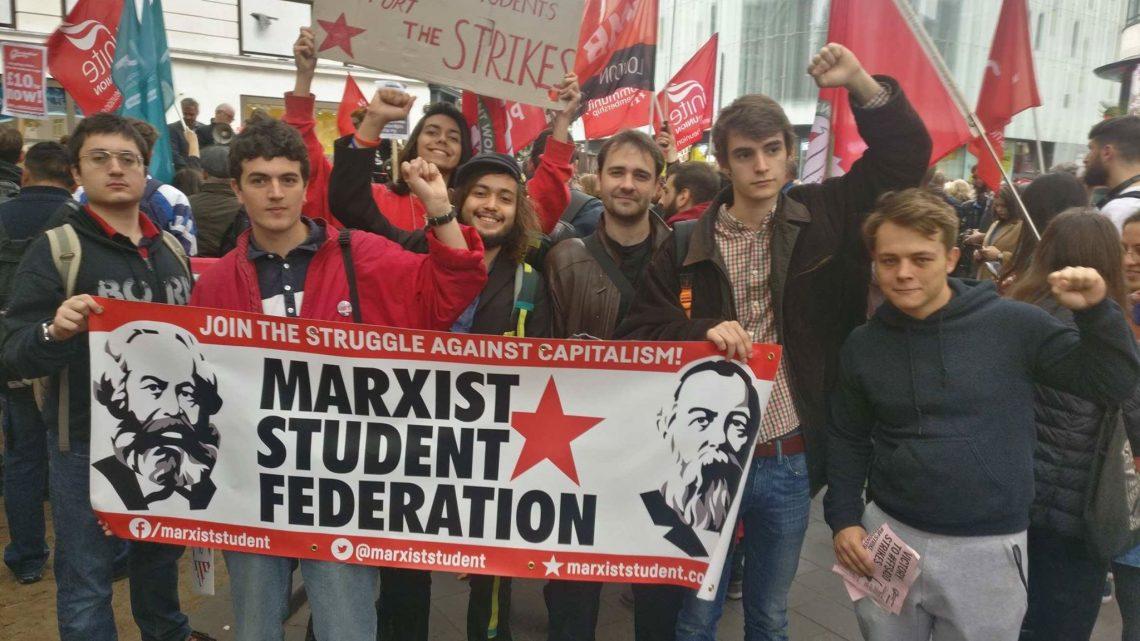 Red wave sweeps British universities
