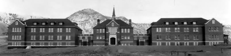 Kamloops indian residential school 1930 Image Public domain