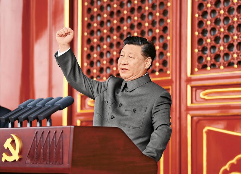 一篇充斥着毛派用语的神秘贴文被视为是中共最高领导层的非官方宣言。//图片来源: court.gov.cn