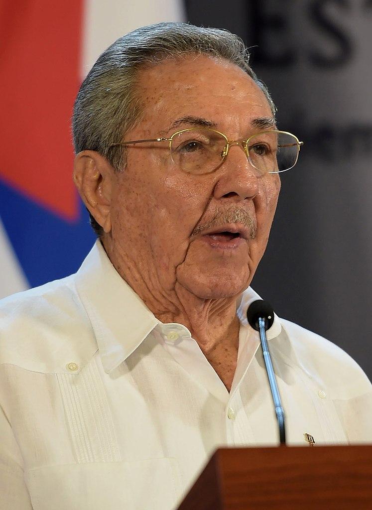 Raul Castro Image Presidencia de la República Mexicana