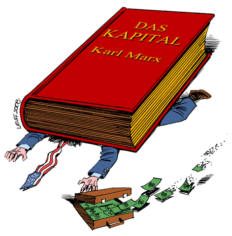 現代貨幣理論把持著對貨幣的錯誤理解。//圖片來源: Latuff