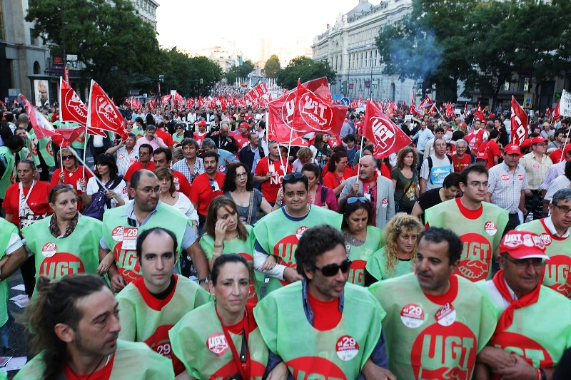 Madrid. Photo: UGT Madrid