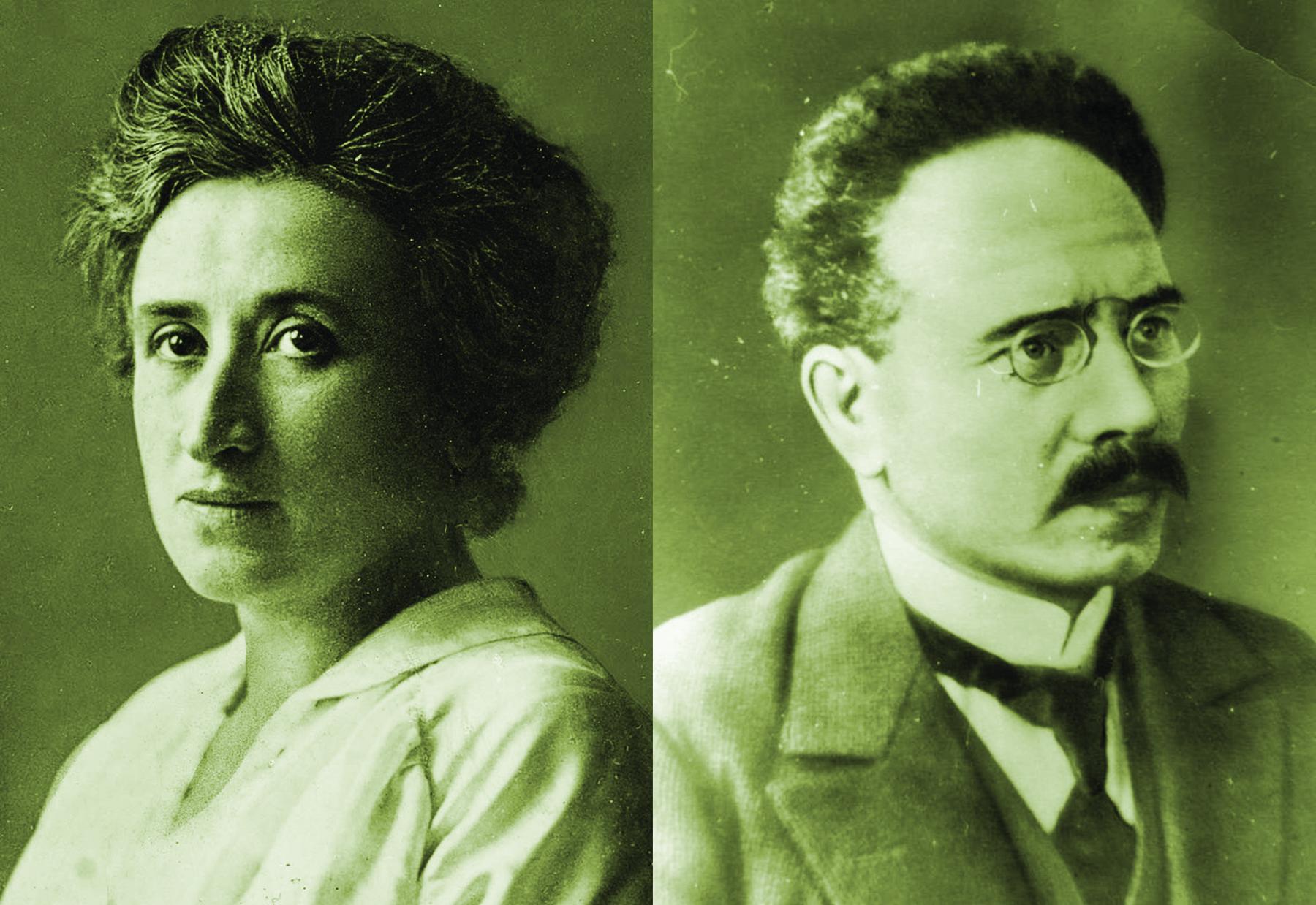德國共產黨剛剛成立,它的兩位傑出領導人盧森堡和李蔔克內西就被殺害了。