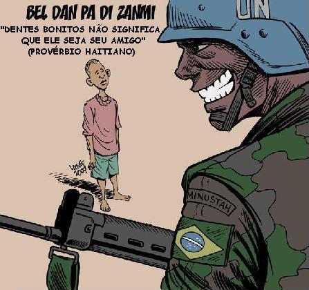 Alto a la masacre en Haití!