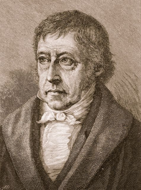 Hegel etching Image public domain
