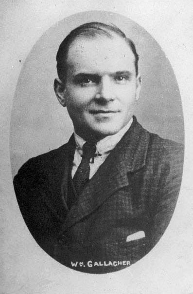 Willie Galacher, leader of the Clyde Workers' Committee.