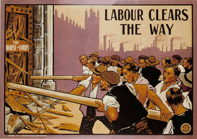 1909 election poster.