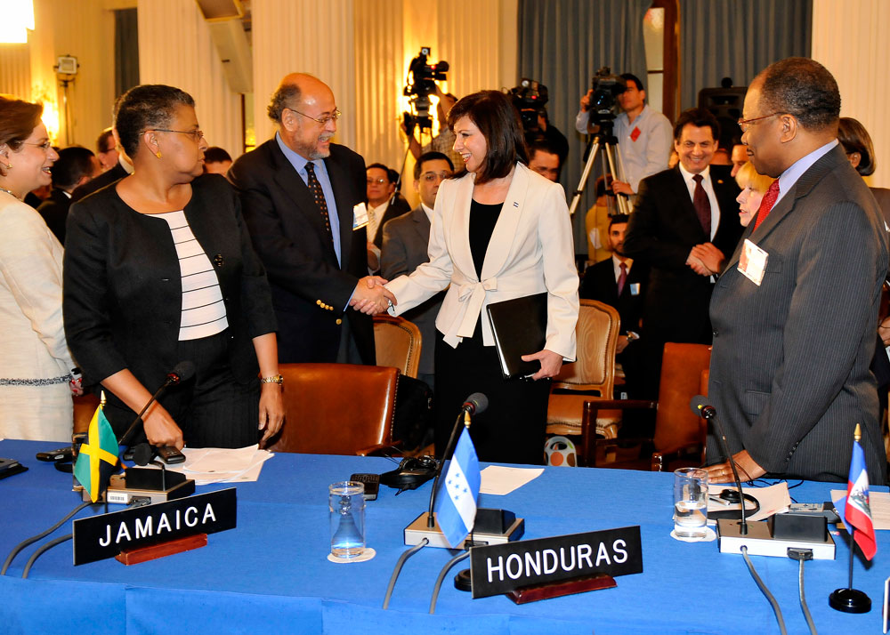 OAS welcomes Honduras back. Photo: Juan Manuel Herrera/ OAS