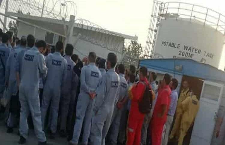 自6月20日以來。罷工浪潮席卷了伊朗的油田和煉油廠,涉及100多個工作場所。//圖片來源:公平使用